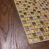 Masa de cafea din lemn si mozaic Maroc
