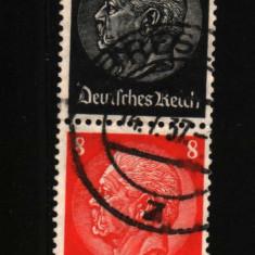 1933 germania mi 512-517 stampilate