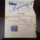 CERNAUTI-BUCOVINA-FACTURA REPARATII SERVICE AUTO-ONOR DEPUTAT RAUTU-1928