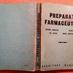 Preparate Farmaceutice - A. Popovici, E. Gafitanu, Gh. Suciu, R. Motocescu - Carte Farmacologie