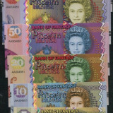 !!!  PITCAIRN  ISLANDS  = LOT COMPLET (6 BUC.) FANTASY NOTES 2018  - UNC