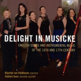 Klaartje Van Veldhoven - Delight In Musicke:.. ( 1 CD ) - Muzica Clasica