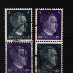 1941 germania mi 783-785 stampilat