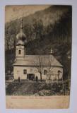 Carte postala Ciclova Montana (jud. Caras-Severin, Banat) circulata la 1911, Printata, Oravita