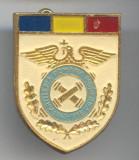 1843 - 1998 ARTILERIA ROMANA MODERNA - Insigna Militara