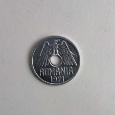 50 bani 1921 - UNC - Moneda Romania, Aluminiu