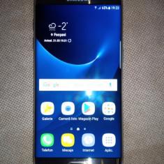Telefon samsung S7 edge gold + card 256 Samsung EVO + Incarcator wireless rapid, Auriu, 32GB, Vodafone, Single SIM