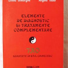 Elemente de Diagnostic si Tratamente Complementare. Sanatate in Stil Chinezesc