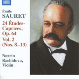 E. Sauret - 24 Etudes-Caprices Op.64 ( 1 CD ) - Muzica Clasica
