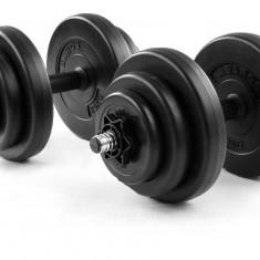 Gantere set reglabile 2x10kg Sportmann, 20 kg