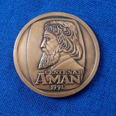 Medalie Centenar Theodor Aman