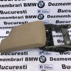 Cotiera piele gri, neagra sau crem originala BMW E90 volan dreapta