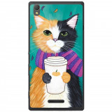 Husa Cozy Cat Sony Xperia T3