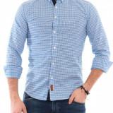 Camasa de barbat, Emar Shop, bumbac, albastru - Camasa barbati, Marime: S, XL, Maneca lunga
