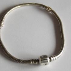 Bratara din argint Pandora 590702HV -19 cm(folosita) - Bratara argint