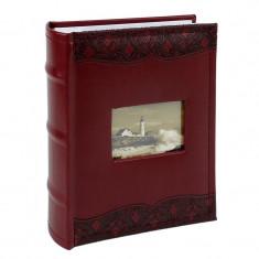 Album foto Luxury 10x15 cm, capacitate 100 poze, piele ecologica, spatiu notite