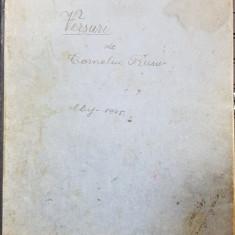 MANUSCRIS, CAIET DE VERSURI DE CORNELIU RUSU, CLUJ, 1945