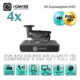 DVR HD-CVI / CVR, ICS-HD CLEAR, 8 Canale Video, Full HD, Vizualizare pe Internet, 4