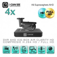 DVR HD-CVI / CVR, ICS-HD CLEAR, 8 Canale Video, Full HD, Vizualizare pe Internet