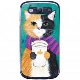 Husa Cozy Cat Samsung Galaxy S3 Neo I9301 S3 I9300