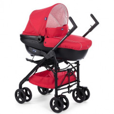 Carucior 3 in 1 Trio Sprint RED PASSION - Carucior copii 2 in 1 Chicco