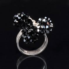 Inel sfere - Inel argint