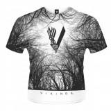 Tricou Vikings - Forest Dye Sub - Tricou barbati, Marime: XXL