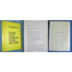 Contributii la Istoria Invatamantului din Banat pana la 1800-1977.