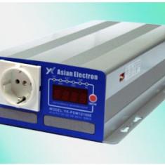Invertor de tensiune cu sinusoida pura 48Vcc - 220Vca 1000W de calitate