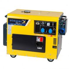 Generator Stager DG 5500 S+ATS, Diesel, 4.2 KW, Automatizare inclusa, Monofazat, Generatoare cu automatizare