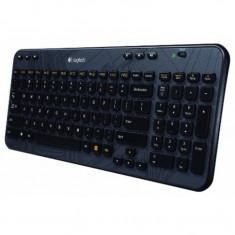 Tastatura Logitech K360, Multimedia, Fara Fir, USB Logitech Unifying receiver, Negru - Tastatura PC