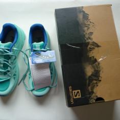 Pantofi sport adidasi pentru alergare Salomon Sonic Aero W ! - Adidasi dama Salomon, Culoare: Bleu, Marime: 37