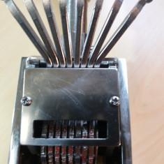 Datiera mecanica veche - Stampila
