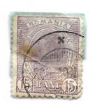 Spic de grau, 1903, 15 bani, violet, obliterat (182), Regi, Stampilat