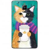 Husa Cozy Cat SAMSUNG Galaxy Note 4 Edge