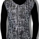 Bluza pentru barbati, Emar Shop, bumbac si lycra, negru - Bluza barbati, Marime: S, XL