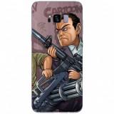 Husa Gta V - Michael Art SAMSUNG Galaxy S8 Plus