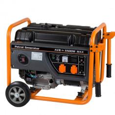 Generator Stager GG 6300W Putere maxima 5.5 kW, Open frame, Monofazat, Generatoare cu automatizare