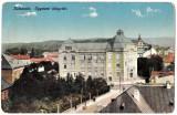 Cluj Kolozsvar  Biblioteca Universitara ilustrata circulata aprox  1910, Cluj Napoca, Printata