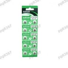 Baterie AG6, LR920, LR69, alkalina, blister de 10 bucati - 123006