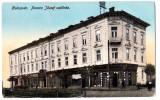 Cluj Kolozsvar Hotel Ferencz Jozsef ilustrata editata aprox prin 1915, Cluj Napoca, Circulata, Printata