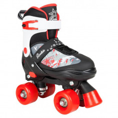 Patine cu rotile Rookie Ace JR V2 black/red
