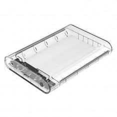 Rack HDD Orico 3139U3 USB 3.0 3.5 inch SATA Clear