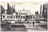 Cluj  Kolozsvar,ilustrata  circulata in 1910,chioscul,cazinoul din parc, Cluj Napoca, Printata