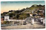 Cluj  Kolozsvar,cetatuia cu casele vechi,podul Elisabeta,editata in 1916, Cluj Napoca, Necirculata, Printata