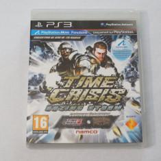 Joc Sony Playstation 3 PS3 - Time Crisis Razing Storm - complet, Shooting, 16+, Single player, Namco Bandai Games