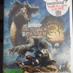 Monster Hunter 3 Tri -Original CD Nintendo Wii videogame - Jocuri WII