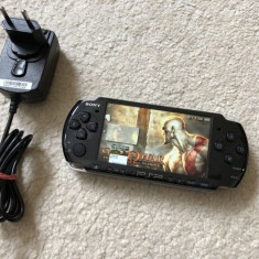 PSP 3004 MODAT cu 20 jocuri psp+1000 nintendo,Minecraft,5xPokemon,Mario,Zelda
