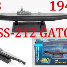 Macheta submarin USS Gato - 1941 1:700 - Macheta Navala, 1:43