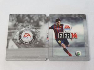 Steelbook joc FIFA 14 + coperta magnetica